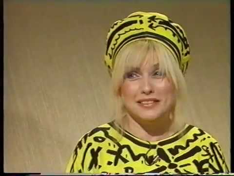 DEBBIE HARRY/BLONDIE-RUSSELL HARTY-BBC 1- 22.N0V.1983