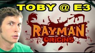 Toby @ E3 - RAYMAN ORIGINS