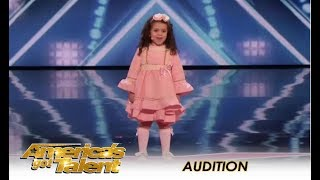 Sophie Fatu: The CUTEST 5-Year-Old Audition Ever! | America