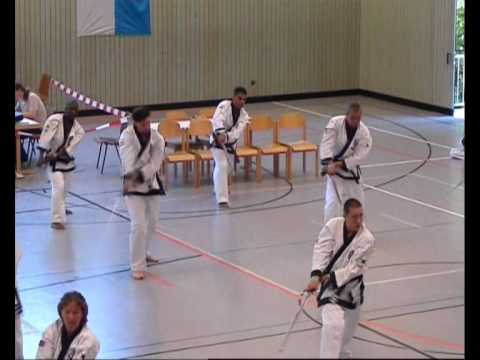 Tang Soo Do (WTSDA) European Championships (2007 Munich, Germany) Masters Demonstration Image 1