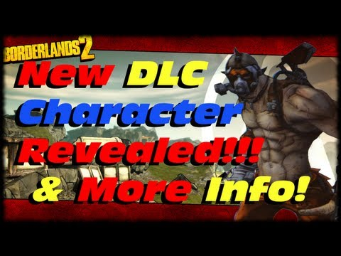 Borderlands 2 New DLC Psycho Character Krieg! Cap Increase & Pearlescents! Ultimate Vault Hunter!