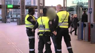 Vekterne på Oslo S må legge mann i bakken