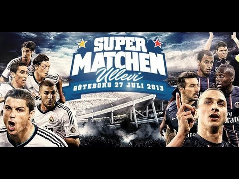Paris vs Real Madrid in Gothenburg