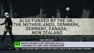 US 'freezes funding' for White Helmets as group's Douma chem attack claim falls apart