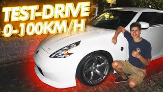 FIZ UM TESTE DRIVE MODO RAIZ DE 370z NISMO! *acelerando tudo*