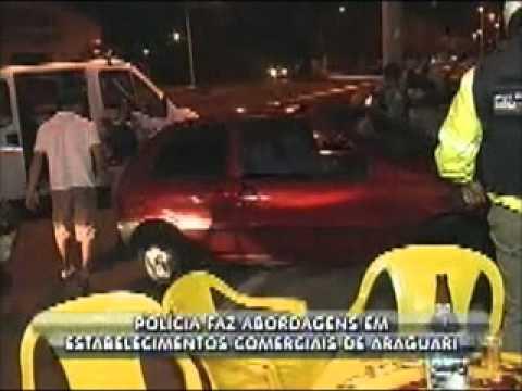 Polícia de Araguari faz abordagem de rotina em vários locais