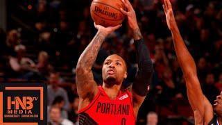 LA Clippers vs Portland Trail Blazers Full Game Highlights | 11.08.2018, NBA Season
