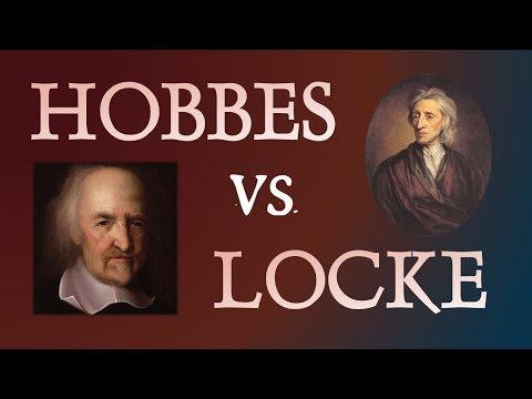 Thomas Hobbes and John Locke:  Two Philosophers Compared