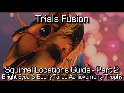 Trials Fusion - Squirrel Locations - Part 2 (11-20) - Bright-Eyed & Bushy-Tailed Achievement/Trophy