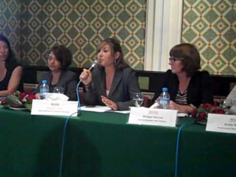 Joanna Toole at WSPA's IWC press conference in Agadir, Morocco.wmv