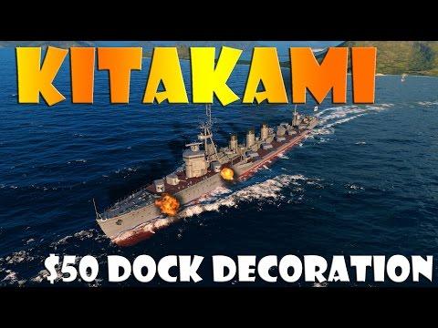 World of Warships - Kitakami - $50 Dock Decoration