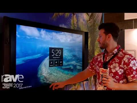 ISE 2017: Microsoft Demonstrates 84″ Surface Hub