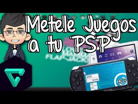 Como meter juegos a Tu PSP gratis sin programas