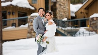 The Chateau at Incline Village Winter Wedding Photography