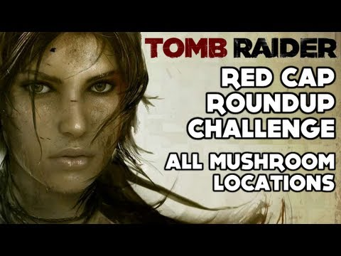 Tomb Raider - Red Cap Roundup Challenge (All Mushroom Locations - Summit Forest)