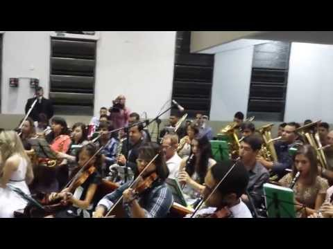 Cem Ovelhas - Orquestra Shikinah - Enbo 2013. video