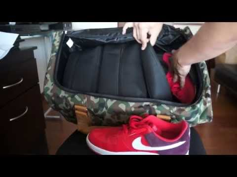 Flud watches x Mayor duffle bag review