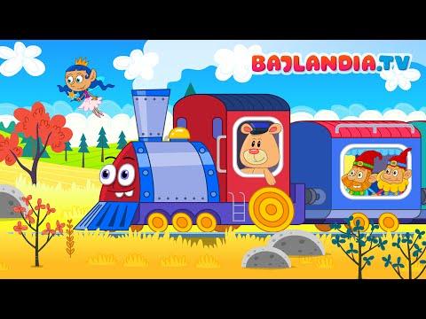 Jedzie Pociąg Z Daleka - Polskie Piosenki Dla Dzieci Z Kanału Bajlandia Tv