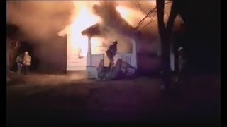 House Fire With Smoke Ignition