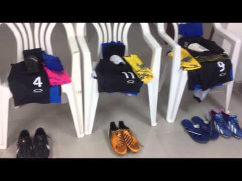 Vestuario pre partido JBL del Zulia vs Potros de Barinas