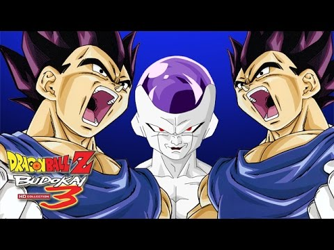 Vegeta Vs. Frieza - Dragon Ball Z: Budokai 3 HD Collection - Part 2  (Walkthrough, Commentary)