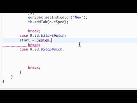 Android Application Development Tutorial - 87 - Getting the Time from the System