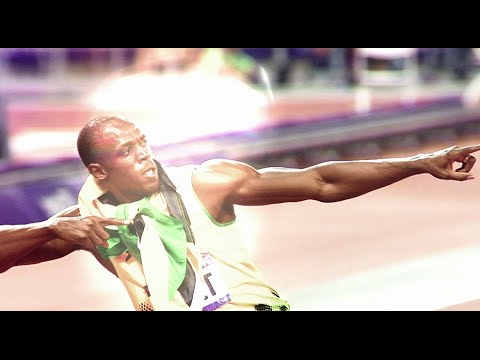 Usain Bolt - chasing greatness!
