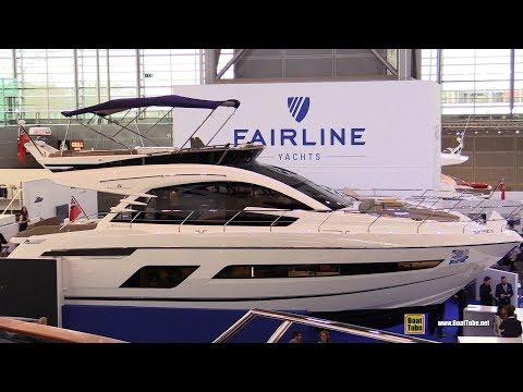 2018 Fairline Squadron 53 Yacht - Walkaround - 2018 Boot Dusseldorf Boat Show