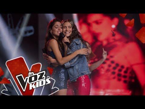 Tini y Greeicy cantan 22 | Yatra y Sus Amigos | La Voz Kids Colombia 2019