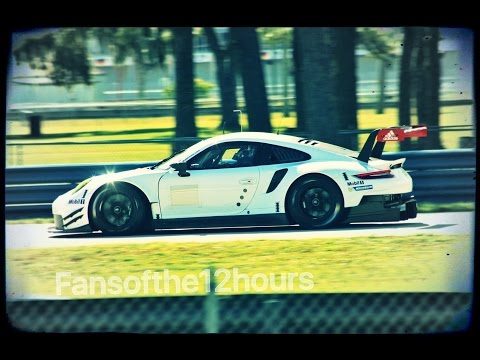 Porsche GT Le Mans Testing Sebring 2016 IMSA