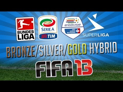 FIFA 13 | Bronze/Silver/Gold Hybrid | 4 Leagues & Giveaway!