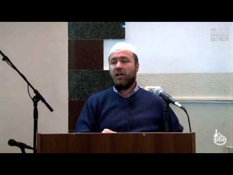 Veprat e tre përsonave që i urren Allahu (Hadith)  -  Hoxhë Mustafa Terniqi