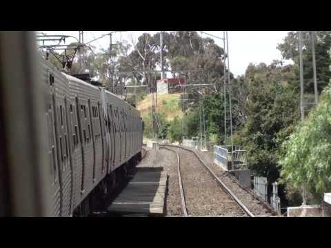 Hitachi ride North Melbourne - Royal Park - Metro Trains
