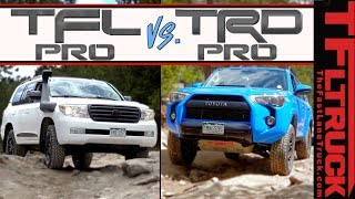 Can The TFL Pro Land Cruiser Crush Toyota's Best Off-Road SUV in the Dirt? | TFLpro S.1 Ep.5