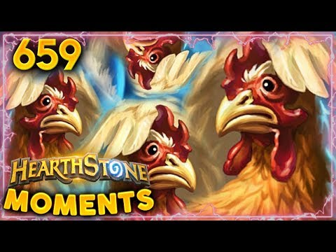 Angry Chicken Combo Is Crazy!! | Hearthstone Daily Moments Ep. 659