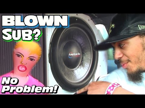 how to get a speaker setup that shakes hair