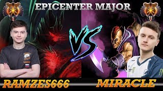 EPICENTER MAJOR Dota 2  LIQUID vs VIRTUS PRO [MIRACLE - Anti Mage]  [Ramzes666 - Terrorblade] GAME 2