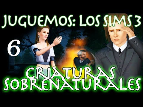 Juguemos: Los Sims 3 Criaturas Sobrenaturales (Parte 6: ¡El amor existe!) Walkthrough en español
