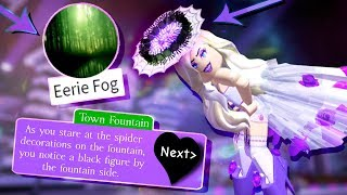 How to get the HALLOWEEN HALO & EERIE FOG BADGE in Royale High