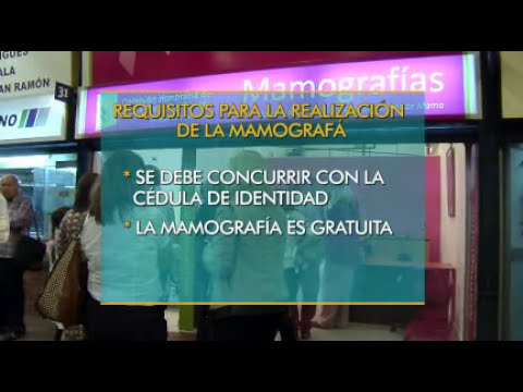 Nuevo local para mamografías gratuitas en Shopping Tres Cruces