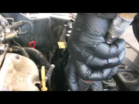 Radiator replacement Hyundai Elantra 2001 - 2006 Install Remove Replace how to change