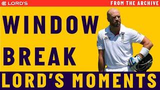 Matt Prior on breaking the Lord's dressing room window   Lord's Rewind