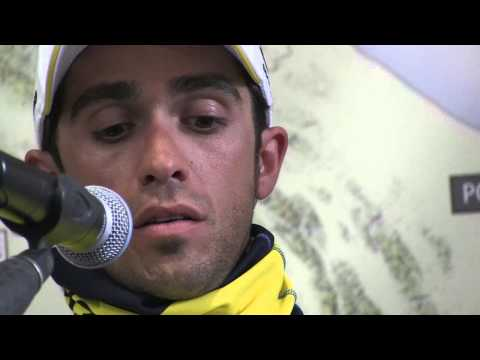 CONTADOR TALKS ABOUT HIS VICTORY AT THE TIRRENO-ADRIATICO