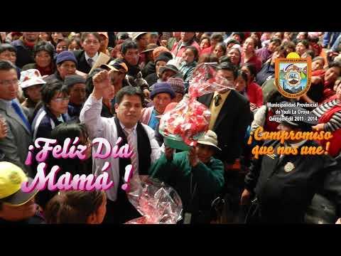 !La Municipalidad Provincial de Yauli La Oroya desea un Feliz Día a todas las Madres Oroinas¡