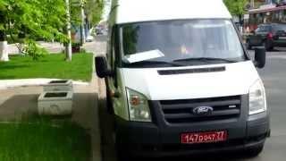 Microbuz cu numere rusești în ospeție la SIS