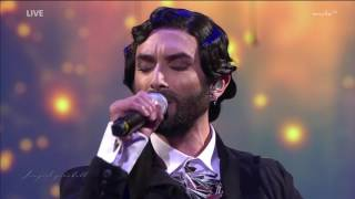 "Conchita mit ""Rise like a phoenix"" SemperOpernball 3.2.2017"