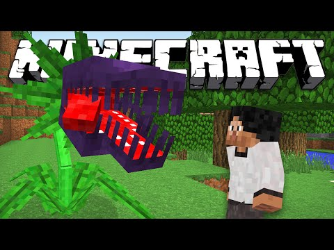 ПЛОТОЯДНОЕ РАСТЕНИЕ - Minecraft (Обзор Мода)
