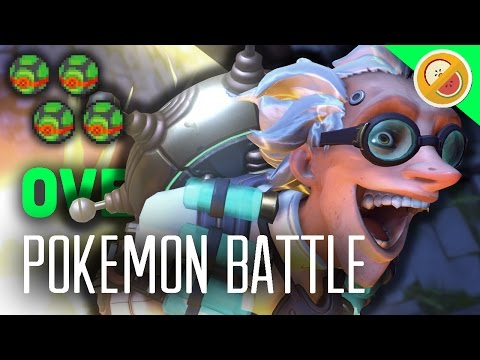 POKEWATCH #8 - SPOOKY DOUBLES! Overwatch Custom Game Gameplay (Funny Moments)