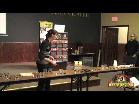 Fair Trade Coffee Cupping with DOMA Coffee Roasting Company