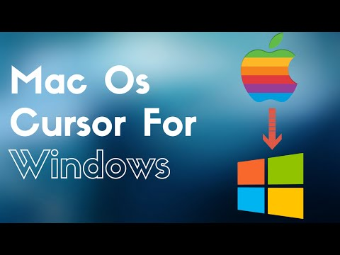 How To Get Mac OS cursor for Windows 7 / 8 / 8.1